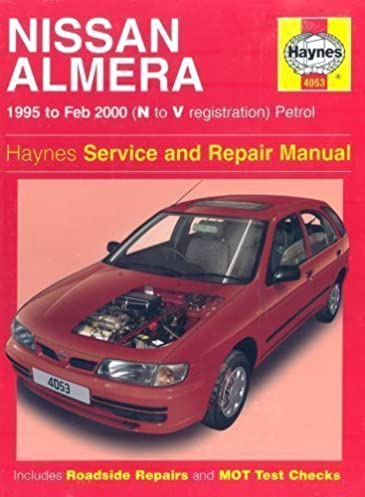 nissan almera service and repair manual n to v reg haynes service rh amazon com 2013 Nissan Sentra 2003 nissan almera owners manual