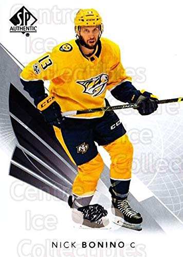 4b496bcba Amazon.com  (CI) Nick Bonino Hockey Card 2017-18 SP Authentic 52 Nick Bonino   Collectibles   Fine Art
