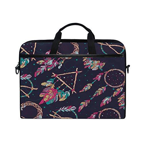 Laptop Computer Bag Sleeves 15 15.4 Inch Dream Catcher Amulet Laptop Sleeve Notebook Computer Pocket Case Tablet Briefcase Carrying Bag Laptop Shoulder Bag