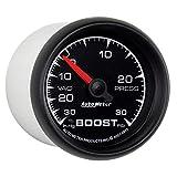 Auto Meter 5903 ES 2-1/16'' 30 in. Hg/30 PSI Mechanical Vacuum/Boost Gauge