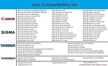 CEF-NZ Altson CEF-NZ Smart Adaptor is Compatible with Canon EF//EF-S Len to Nikon Z Mount Camera Z6 Z7