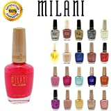 Lot of 10 Milani Finger Nail Polish Color Lacquer All Different Colors No Repeats
