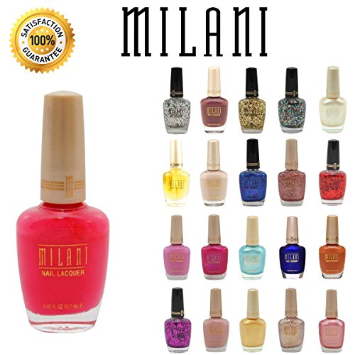 Lot of 10 Milani Finger Nail Polish Color Lacquer All Different Colors No Repeats ()