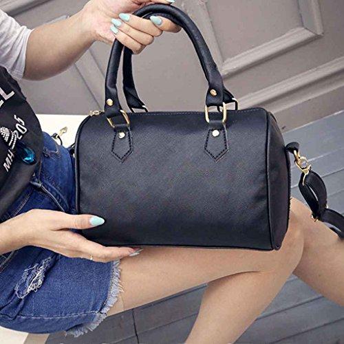 Pure Élégant Color Topker Sac Occasionnels Dames Noir À Main Bandoulière Bandoulière à Fashion Femmes Main Sling Sac À Sac q14n1txz