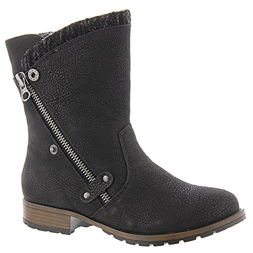 Ankle Boot Textile Synthetic Girl Rabble Madeline Black ZqExUwvnp