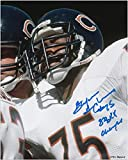 Stefan Humphries Chicago Bears Autographed 8