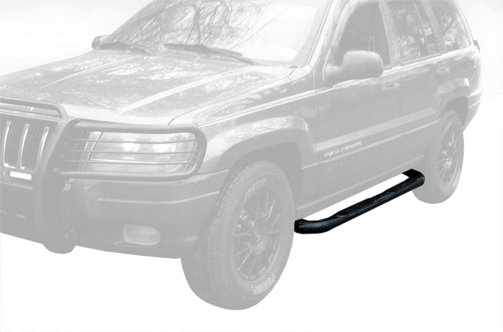 amazon com maxmate premium compatible with 1999 2004 jeep grand cherokee 4dr 3 side armor step nerf bars black running boards automotive maxmate premium compatible with 1999 2004 jeep grand cherokee 4dr 3 side armor step nerf bars black running boards
