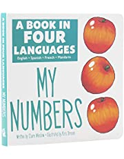 A Book in 4 Languages - English, Spanish, French, and Mandarin Chinese - My Numbers - PI Kids (English, Spanish, French and Mandingo Edition)
