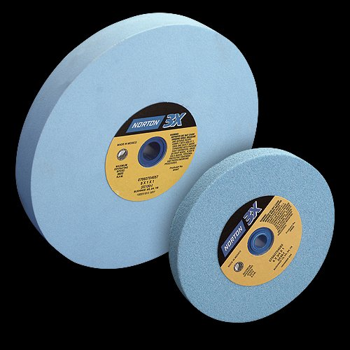 Norton Saint Gobain Abrasives 7660705412 6in. x 3/4in. x 1in. 80 Grit 3X Grinding Wheel by NORTON COMPANY