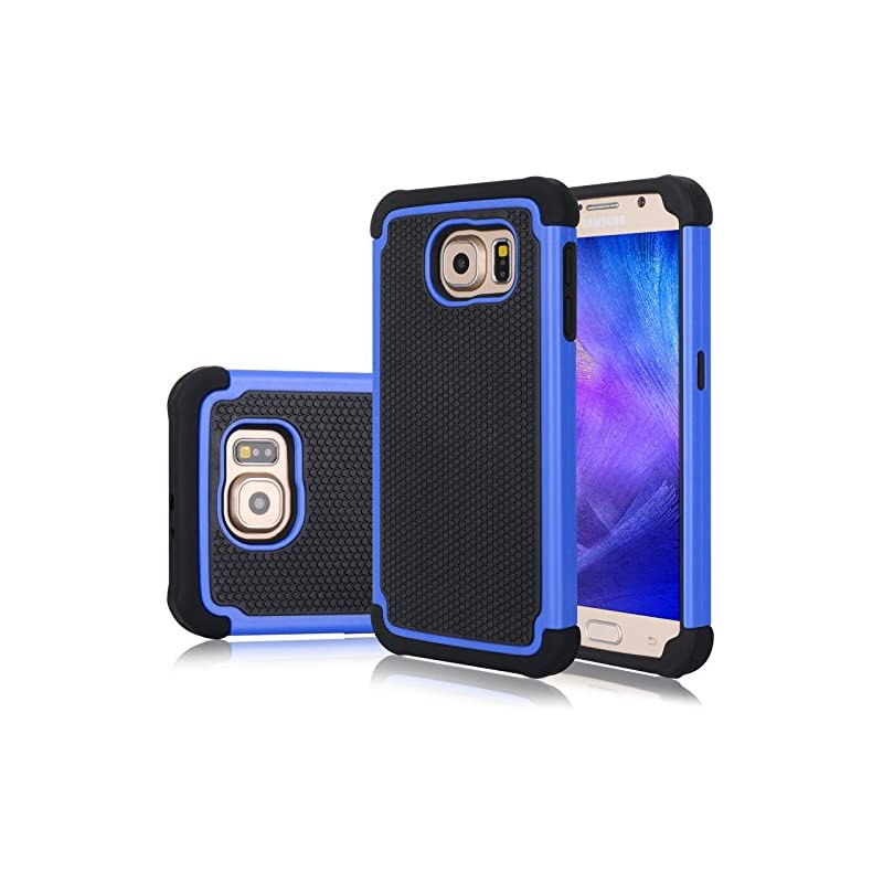 Galaxy S6 Edge Case, Jeylly(TM) [Shock P
