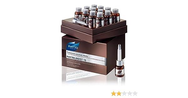 Phyto Phytologist 15 - Tratamiento anticaída global (24 ampollas de 3,5 ml): Amazon.es: Belleza