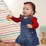 Fat Brain Toys Dimpl Wobbl - Orange Baby Toys