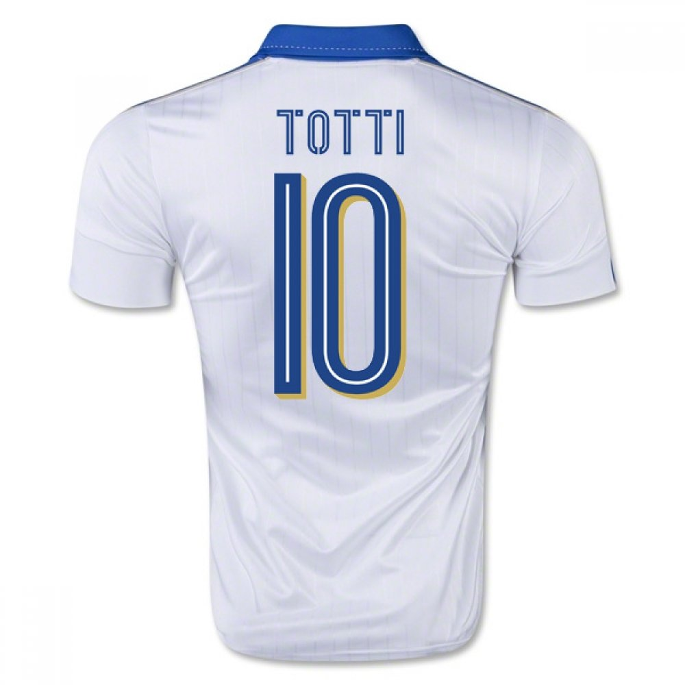 2015-16  Away Football Soccer T-Shirt Trikot (Francesco Totti 10) - Kids