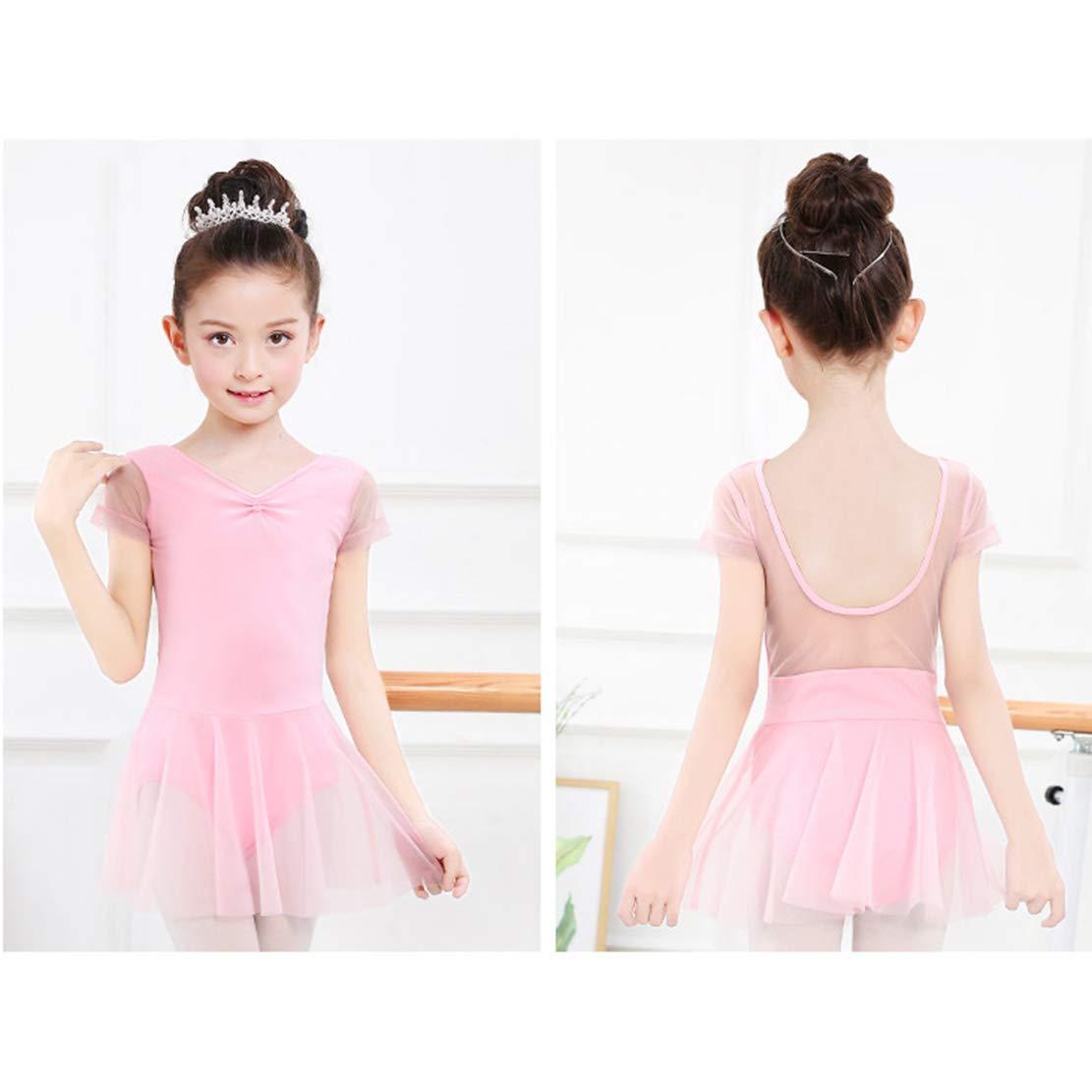 mama stadt Abito da Danza Balletto,Costumi di Ginnastica Body di Danza Classica di Ballerina Vestito per Ragazze Bambine