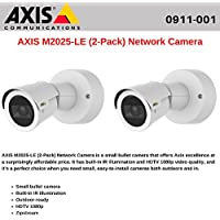 AXIS M2025-LE (2-Pack) Network Camera, Outdoor-Ready Camera with Built-in IR