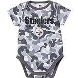 Gerber Baby Boys Pittsburgh Steelers Camo Bodysuit