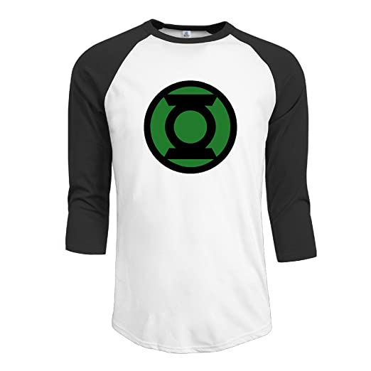 41da3c916 Amazon.com: Green Lantern Corps Superhero Alan Scott Men's Baseball Shirts  Raglan Shirt (6310215113421): Books