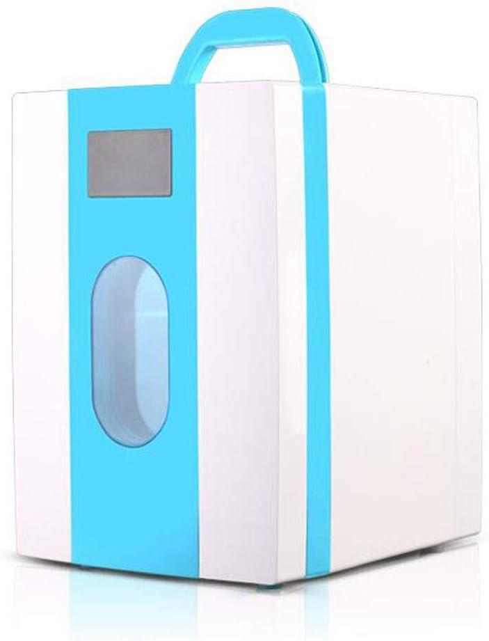 LYN Tragbarer 10-Liter-Kompressor-K/ühlschrank mit Gefrierfach Farbe : Blau 12 V 220 V f/ür Auto und Haushalt