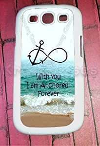 Samsung Galaxy S3 Case, Forever Anchored, Infinity Samsung Galaxy S3 Cover, Samsung Galaxy S3 Cases, Galaxy S3 Case