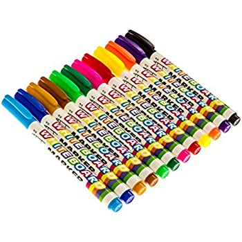 Amazon.com : Dry Erase Whiteboard Markers - 12 Pack - Thin