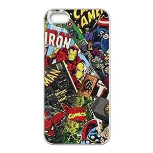 Super Heros Black iPhone 5s case