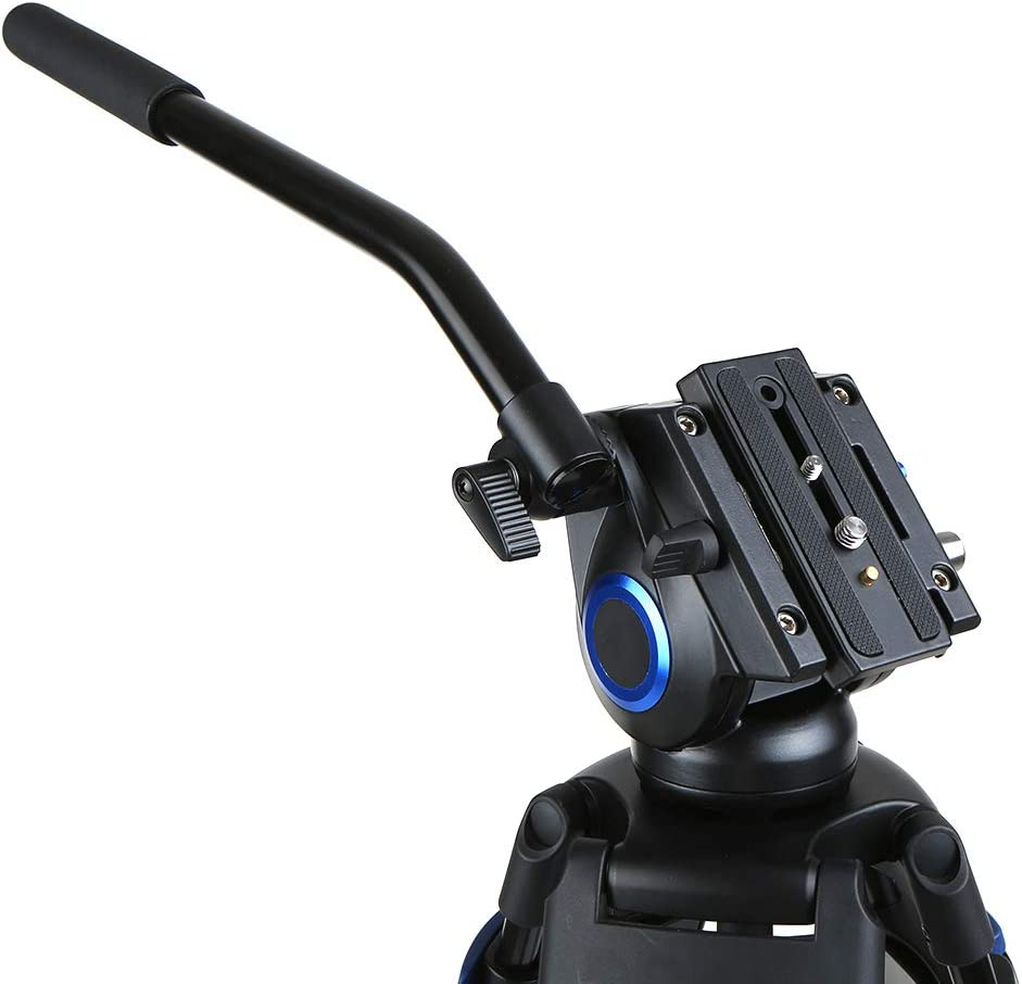 Height 72 Inch Max Load 25kg RuleaxA Professional DSLR Camera Tripod Monopod with 360 Panorama Ball Head Quick Release Plate 3-Section Telescoping for Nikon Sony DSLR Camera Camcorder Max