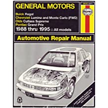 Amazon john harold haynes books general motors buick regal chevrolet lumina and monte carlo fwd olds cutless supreme pontiac grand prix automotive repair manual 1988 1995 all models fandeluxe Image collections