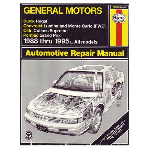 Buick Regal Owners Manual - 2