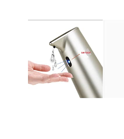 Amazon.com: DULPLAY Automatic soap dispenser, Touchless,Stainless steel, Ir infrared motion Sensor Hand free Dish soap hotel Bathroom Hand soap Shampoo ...