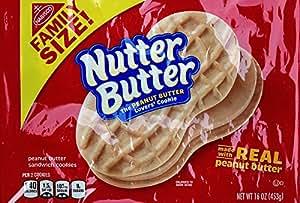 Nutter Butter Peanut Butter Sandwich Cookies, 16 Ounce