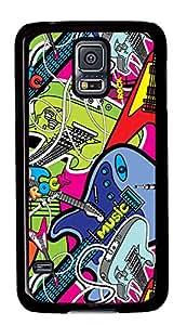 Samsung Galaxy S5 Case,Samsung Galaxy S5 Cases - Rock Music Custom Design Samsung Galaxy S5 Case Cover - Polycarbonate¨CBlack