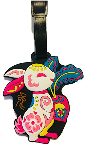 Chinese Zodiac Year of the Rabbit Luggage Tag (Rabbit)