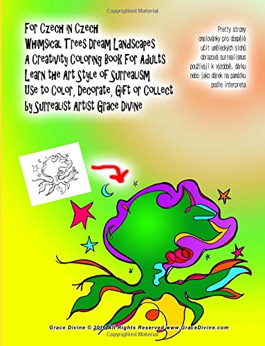 Download For Czech in Czech Whimsical Trees Dream Landscapes A Creativity Coloring Book For Adults Learn the Art Style of Surrealism Use to Color, Decorate, ... Artist Grace Divine (Czech Edition) pdf epub