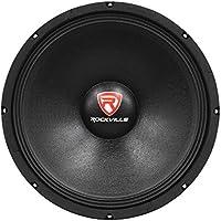 Rockville RVP15W8 1000 Watt 15 Raw DJ Subwoofer 8 Ohm Sub Woofer 51OZ Magnet