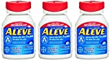 Aleve Tablets with Easy Open Arthritis Cap, 220 mg, 100 Count (Pack of 3)