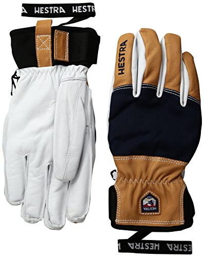 Hestra Army Leather Abisko Ski and Cold Weather Gloves Unisex