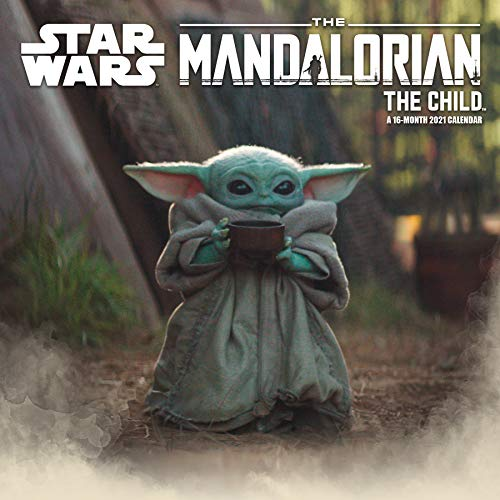 2021 Star Wars Mandalorian - The Child Wall Calendar