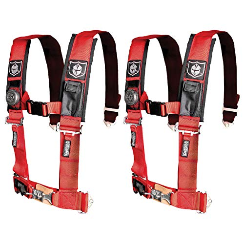 Pro Armor Red 5-Point Harness 2