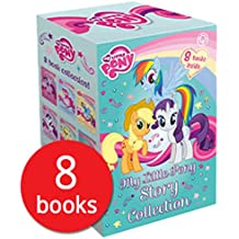 My Little Pony Story Collection 8 Books Box Gift Set ( Twilight Sparkle and The Crystal Heart Spell, Rarity and the Curious case of Charity, Rainbow Dash And the Daring)