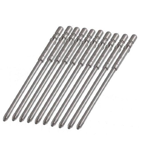 ank 80mm Length 3mm Phillips PH1 Magnetic Screwdriver Bits ()