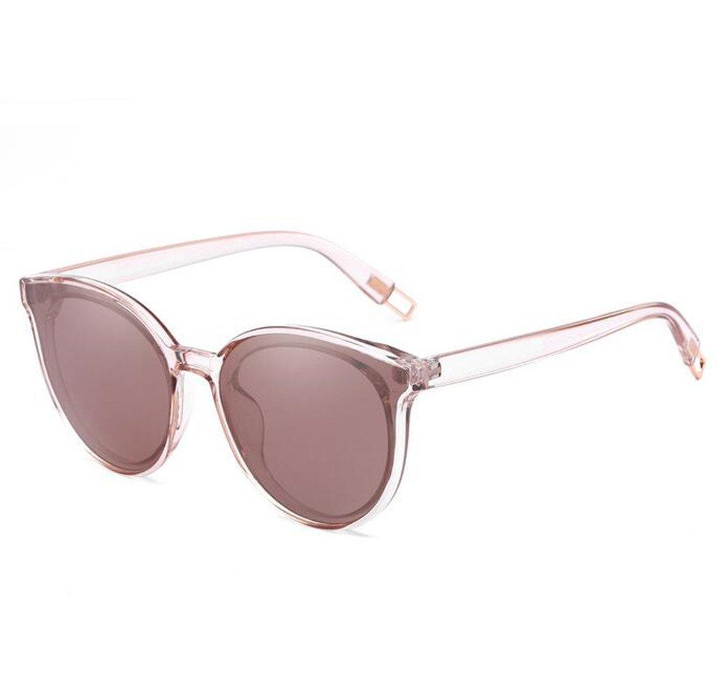 SHULING Gafas De Sol Nuevo Desplazamiento Óptico Personalidad Retro Gafas Gafas Gafas De Conducción, Caja Negra/Película Negra Caja Negra/Película Negra
