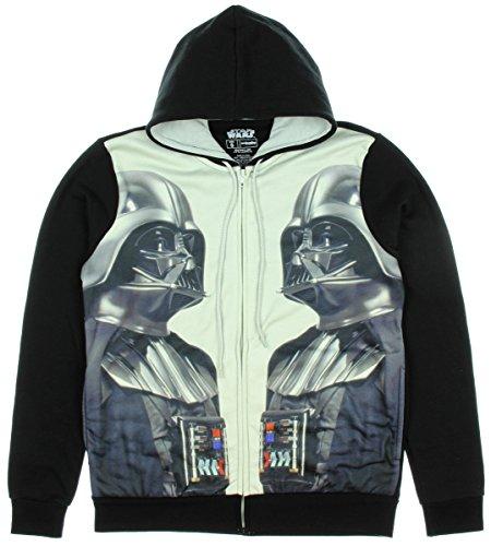 Star Wars Darth Vader Mirror Men's Hoodie (Medium)