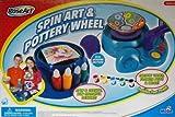 2009 Rose Art Spin Art & Pottery Wheel Bonus Pack by Mega Brand Inc.