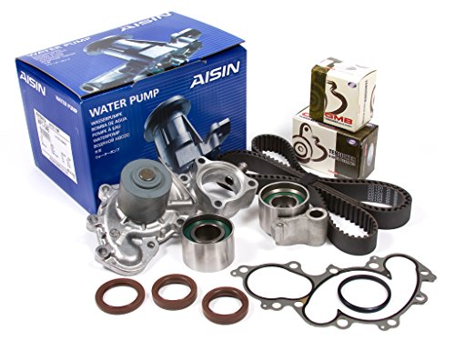 Evergreen TBK271WPA2 Toyota Pickup 3.4 DOHC 5VZFE Timing Belt Kit AISIN Water Pump