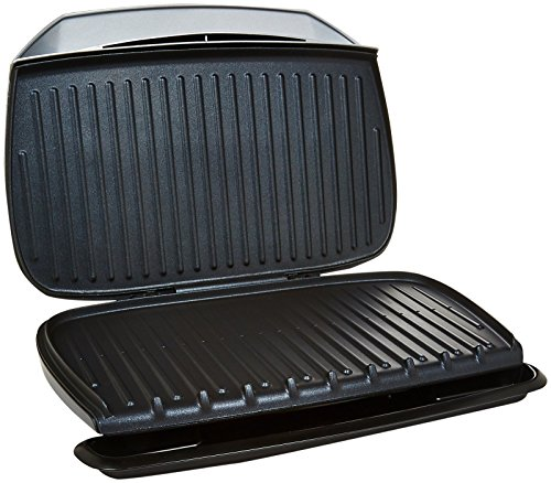 George foreman gr2144p 9 serving classic plate grill new - George foreman replacement grill plates ...