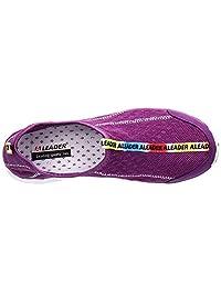 Aleader calzado acuático de malla, sin cordones ni cierres, para mujer