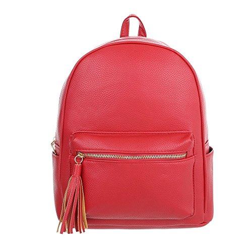 Schuhcity24 Taschen Freizeittasche Rot 5hlIbRIQ4h