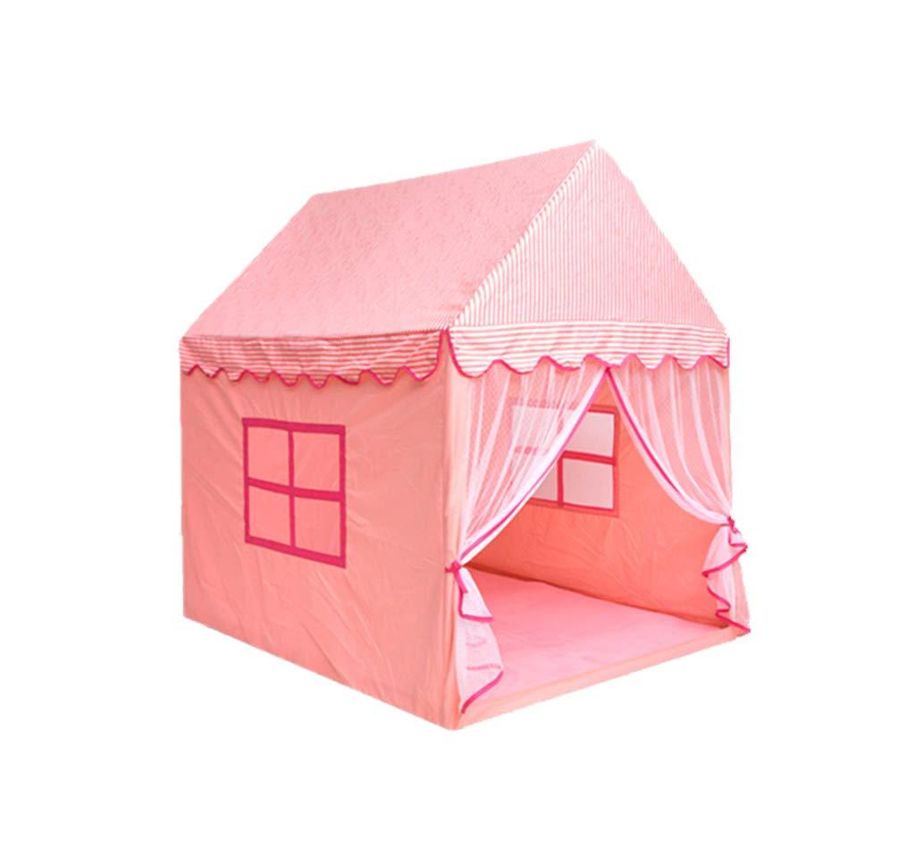 ZPHWH-E HWH Kind Zelt, Gewebe Kinderzimmer Indoor Spiel Spielzeug Zimmer Schlafzimmer Baby Geburtstagsgeschenk Schloss 140  110  145 cm Spiel Haus
