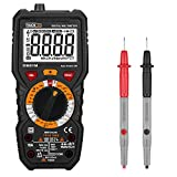 Tacklife DM01M Advanced Digital Multimeter Trms 6000 Counts Tester Non Contact Voltage Detection Amp Ohm Volt Multi Meter Temperature, Live Line, with Lcd Backlit