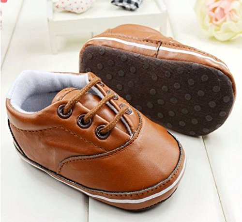Leather Pram Shoes For Babies - 7